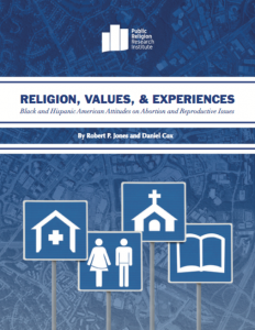 PRRI Religion Values Experiences