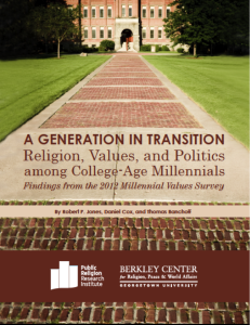 Millennial values 2012 cover 231x300 ePublications