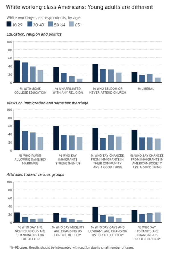 PRRI 2013 Citizenship Values Cultural Concerns_wwc young adults are different