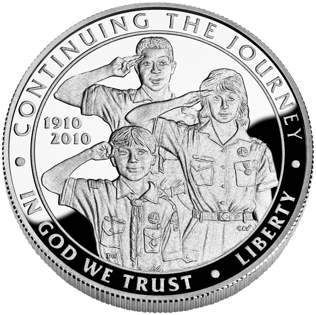Boy Scouts of America Silver Dollar Centennial Commemorative Coin obverse Boy Scouts Set to End Ban on Gay Members