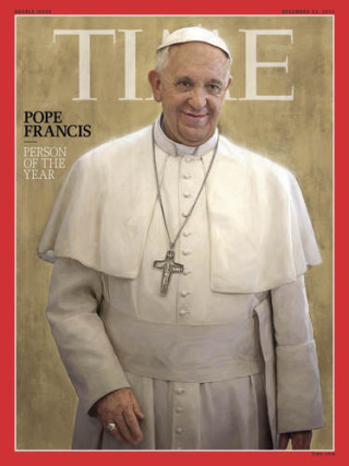 pope time cover 320x427 Pope Francis I Named Time Magazine's 2013 Person of the Year