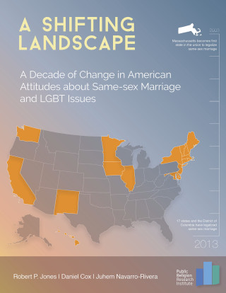 2014.LGBT .COVER  320x414 Survey | A Shifting Landscape: A Decade of Change in American Attitudes about Same Sex Marriage and LGBT Issues