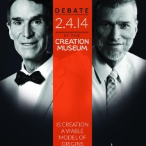creationism debate 210x210 NYE VS. HAM: Is the Creationism vs. Evolution Debate Winnable?
