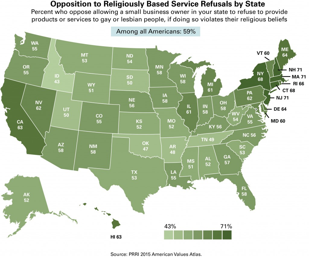 PRRI AVA Service refusals heat map